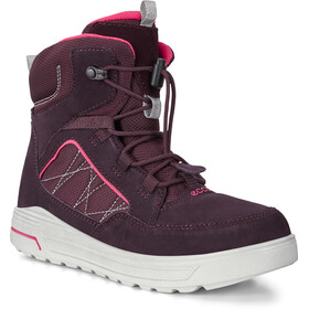 ECCO Urban Snowboarder Boots Girls fig/teaberry